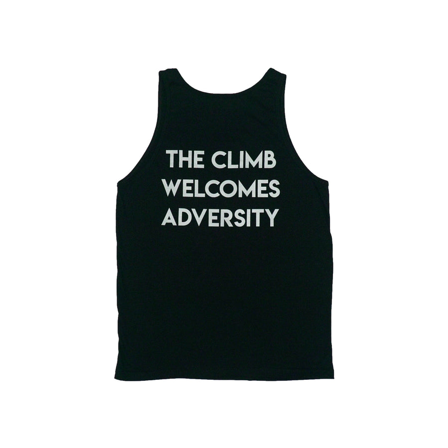 HDMH Men's The Climb Welcomes Adversity Tank - Black