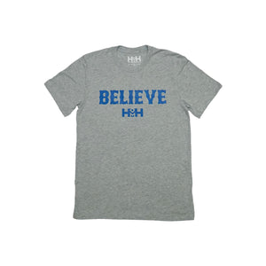 HDMH Unisex BELIEVE T-Shirt - Athletic Heather