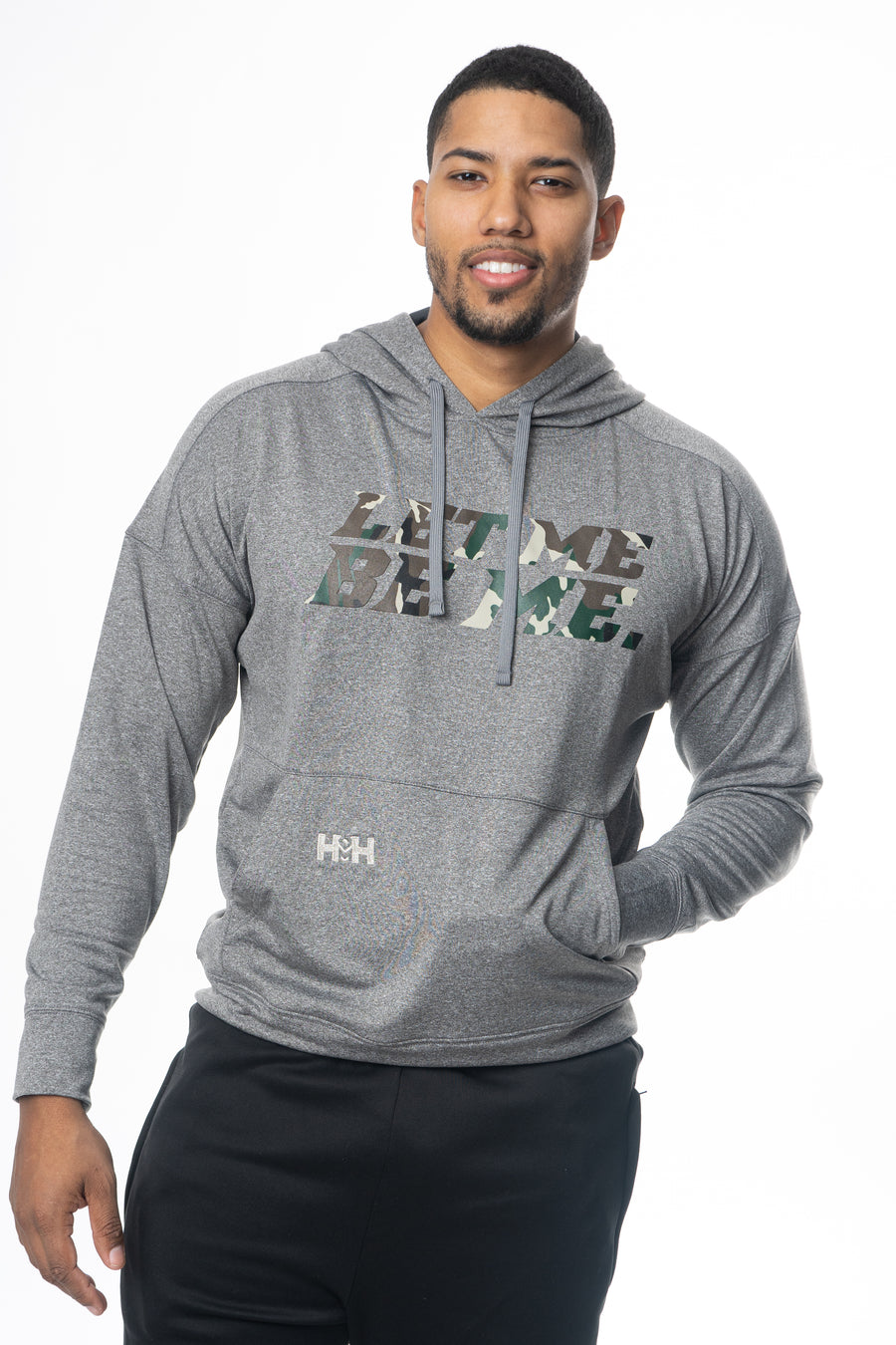 HDMH Unisex Performance Hoodie - Let Me Be Me.