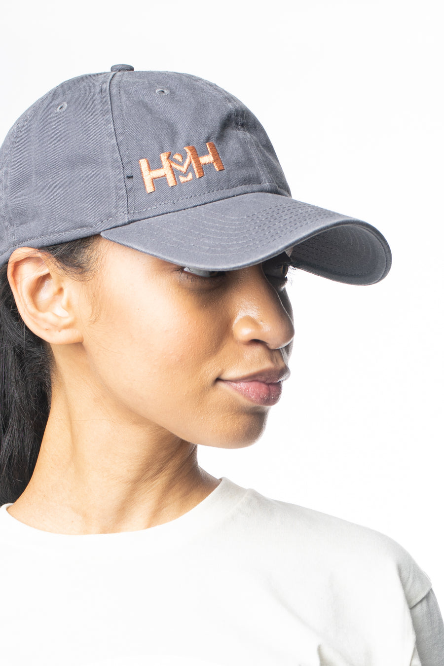HDMH x New Era 9TWENTY Dad Hat - Grey
