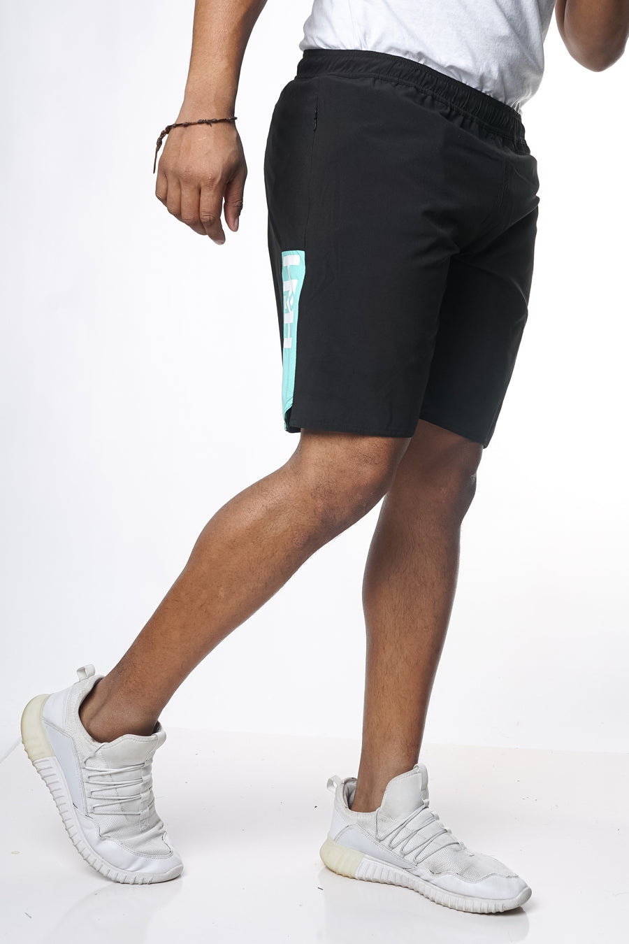 HDMH Training Shorts - Black/Mint