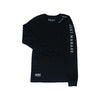 HDMH Unisex Never panic, just manage. Long Sleeve Tee - Black