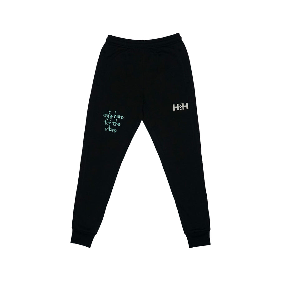 HDMH Unisex Performance Joggers - Black