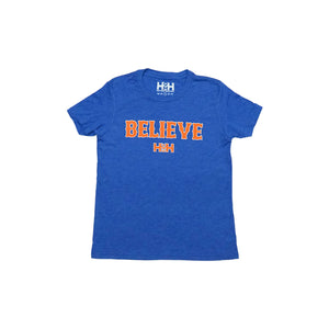 HDMH Youth BELIEVE T-Shirt - Athletic Royal
