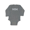 HDMH Infant Bodysuit - Heather Grey