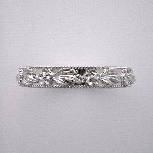 Top View Antique Wedding Ring