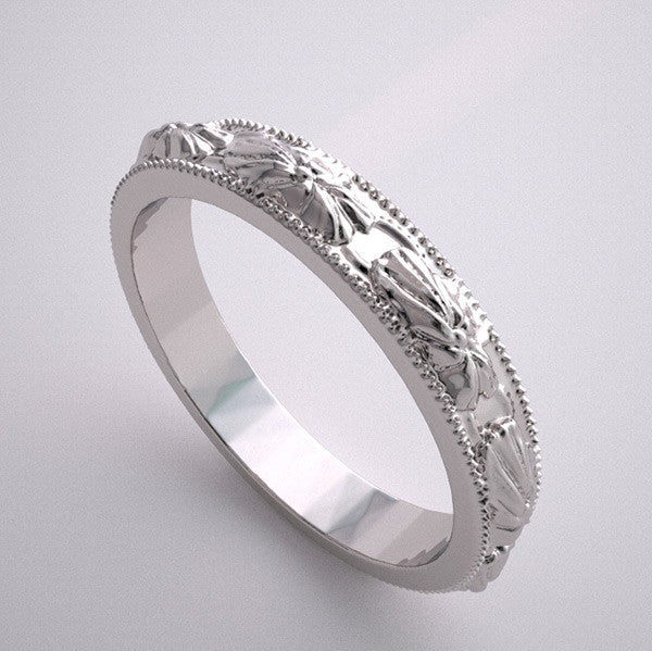 Antique Style Wedding Ring