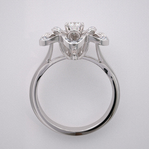 Floral Ring Mounting