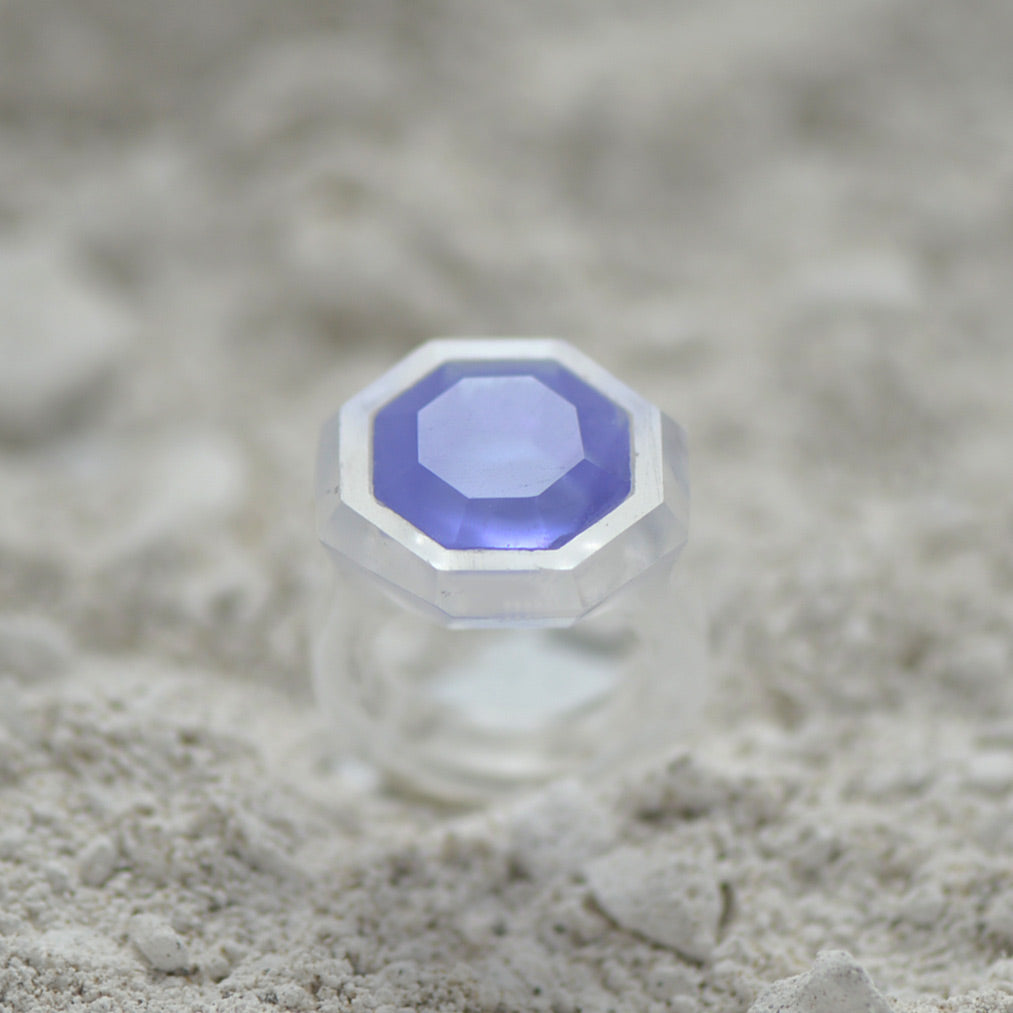Clear Glass Casting Ring