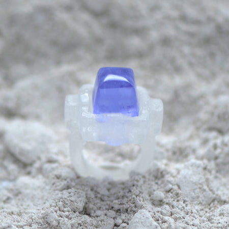 Cabochon Glass Casting Ring
