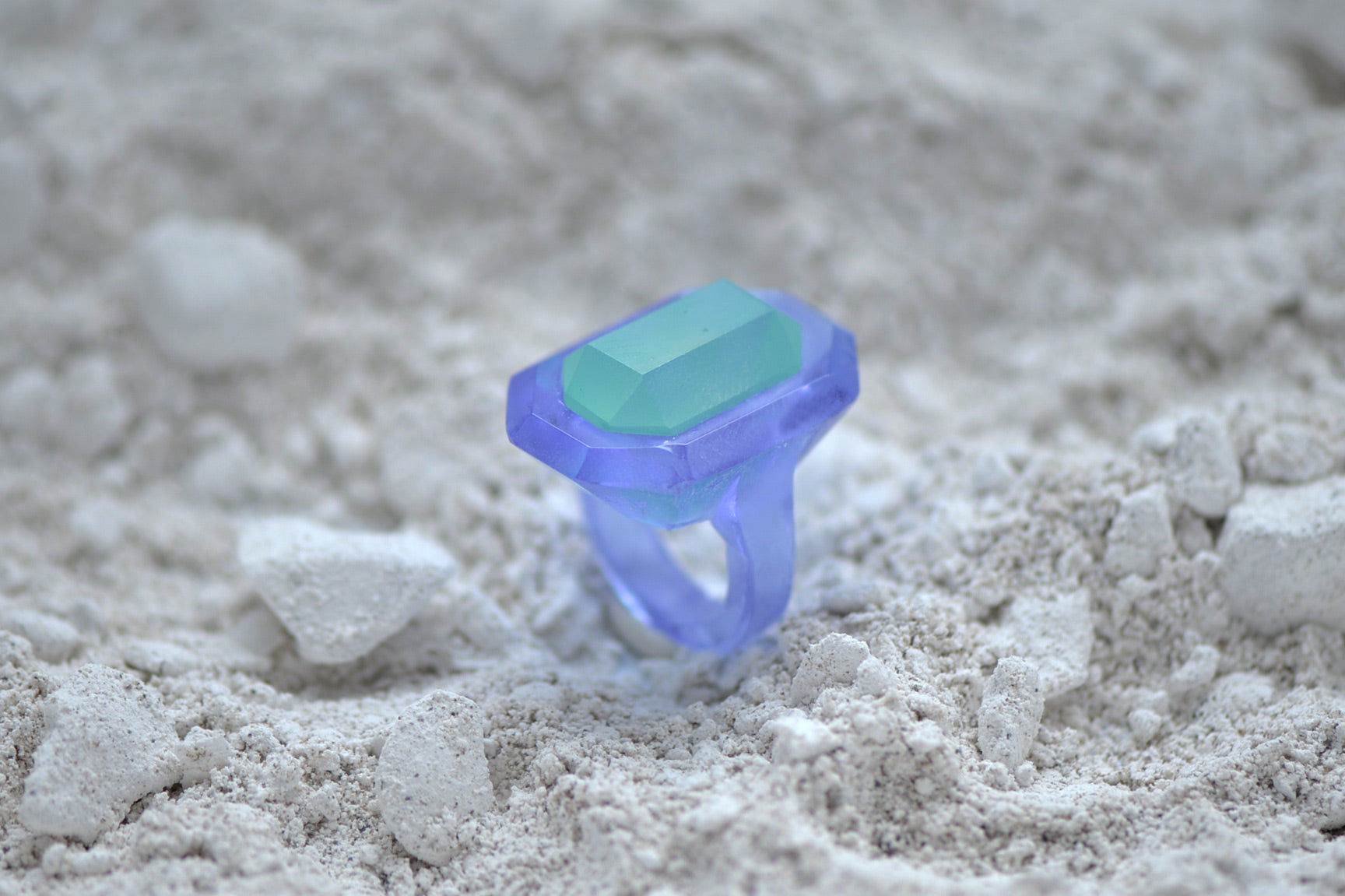 Kiln Glass Casting Ring