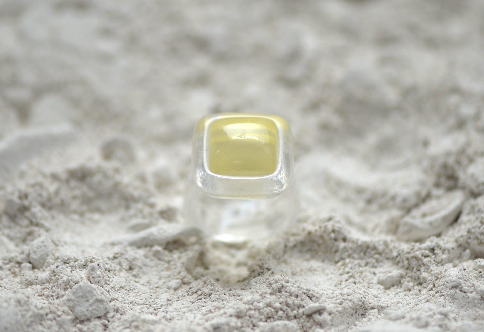 Molded Casting Double Gem Ring