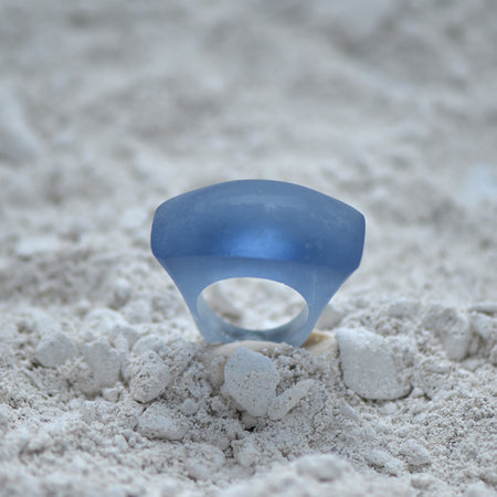 Classic Domed Glass Casting Ring