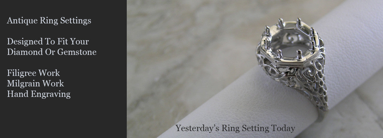 Antique Ring Settings Style