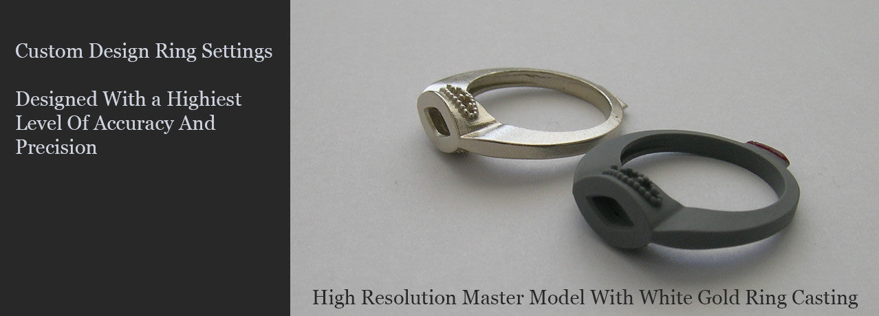 Custom Engagement Ring Settings