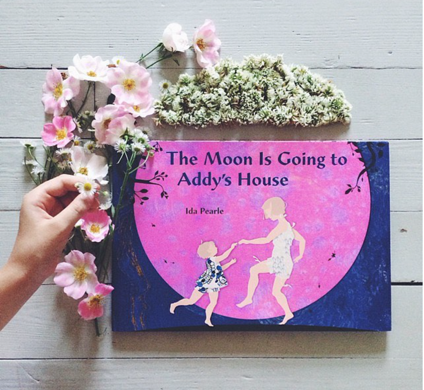 The Moon is Going to Addy's House, signed copy