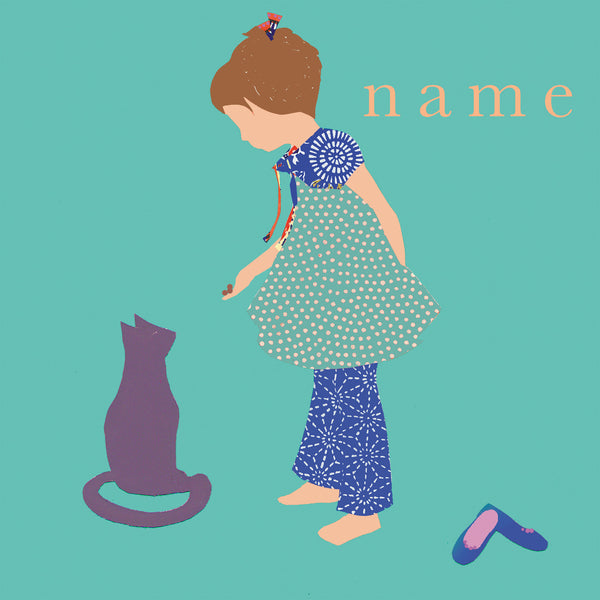 CAT custom name print