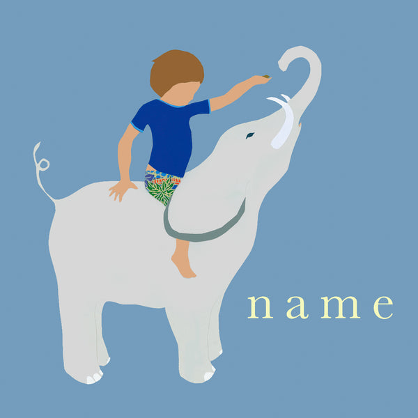 ELEPHANT custom name print