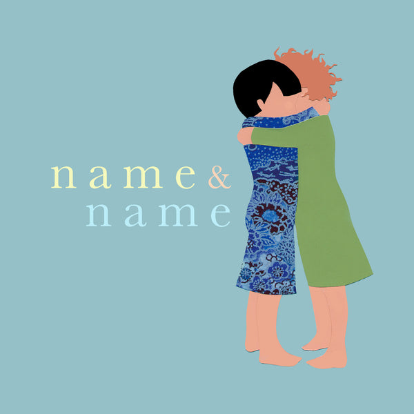 HUG custom name print
