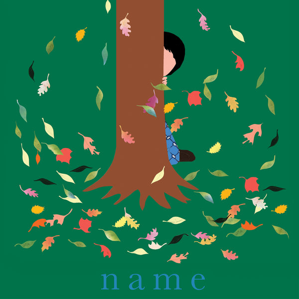 LEAVES custom name print