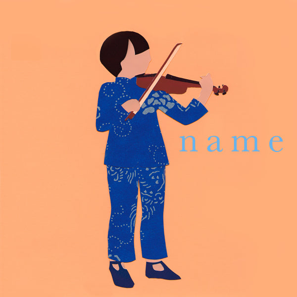 VIOLIN custom name print
