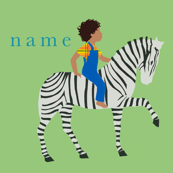 ZEBRA custom name print