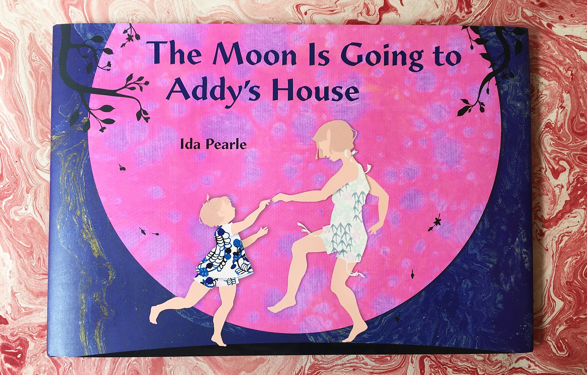 the moon is going to addy's house cover