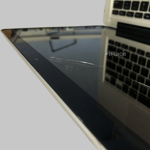 "CRACKED MACBOOK PRO 13"" GLASS ? WE CAN FIX IT @ IPLACE COIMBATORE"