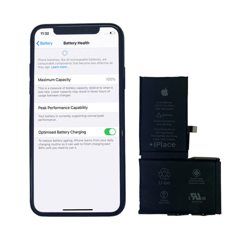 IPHONE X BATTERY DAMAGED AND REPLACED
