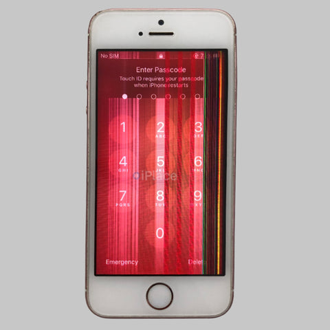 REPLACING DISPLAY ON DAMAGED IPHONE SE WITH WARRANTY - IPLACE COIMBATORE