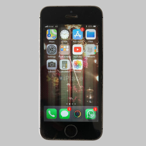 REPLACING DISPLAY ON DAMAGED IPHONE 5s WITH WARRANTY - IPLACE COIMBATORE