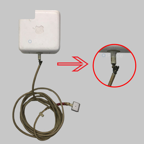 CHARGING CABLE DAMAGED IN MACBOOK ADAPTER? WE CAN REPLACE IT - IPLACE COIMBATORE
