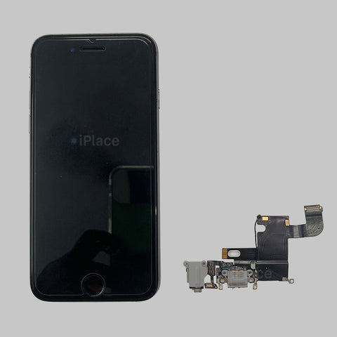 IPHONE 6 CHARGING PORT NOT WORKING, REPLACED NEW CHARGING PORT WITH WARRANTY