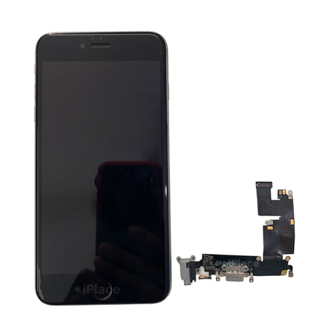 IPHONE 6+ CHARGING PORT NOT WORKING, REPLACED NEW CHARGING PORT WITH WARRANTY