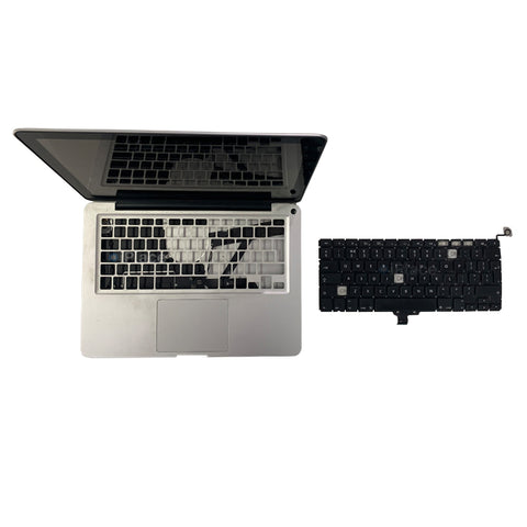 "MACBOOK PRO 13"" KEYBOARD MISSING AND NEW KEYBOARD REPLACED @ IPLACE COIMBATORE"