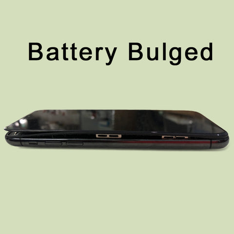 IPHONE X BATTERY BULGED.? WE CAN REPLACE NEW BATTERY WITH WARRANTY @ IPLACE COIMBATORE