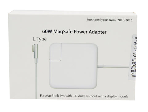 MacBook Pro 13 inch 60W L Type charger MagSafe 1