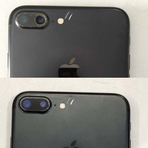 iPhone 7 Plus rear camera glass replaced