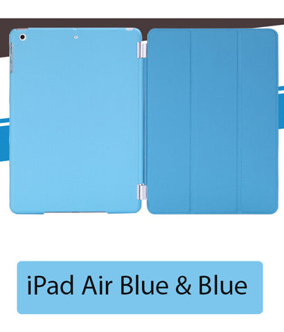 iPad Air Case Cover Blue with Auto on / off function