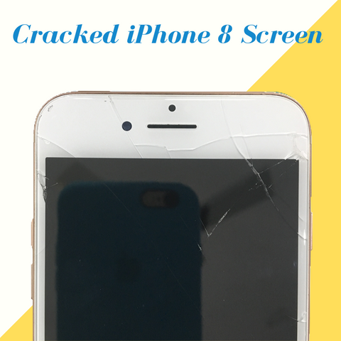 Cracked iPhone 8 Display Replaced at best price - Apple World Coimbatore
