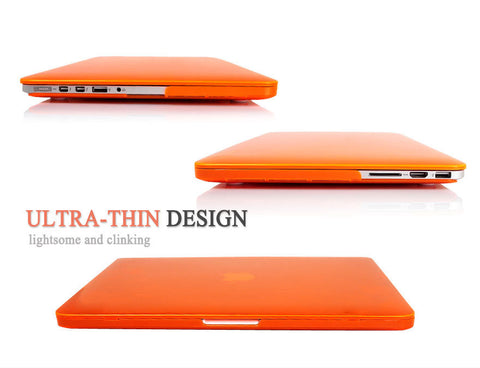 MacBook Pro 13 inch Retina Display Orange Colour Hard Shell Matt Finish case