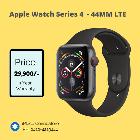 New Apple Watch Series 4 - 44MM GPS+LTE @ 29,900/-   1 Year Apple Warranty