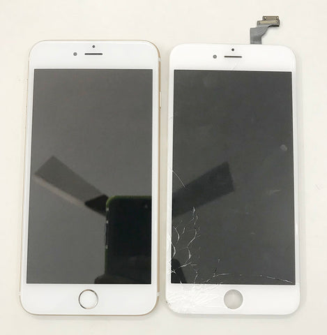 Cracked iPhone 6 Display Replaced