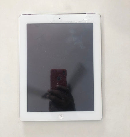iPad 3 Cracked Screen and Home Button Replaced