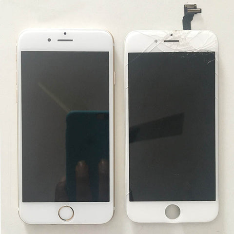 iPhone 6 Display Glass Broken And Glass Alone Replaced