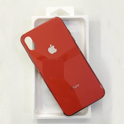 iPhone Xs Max Glass Finish Cases
