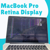 Cracked MacBook Pro Retina 15 Screen Replaced with warranty