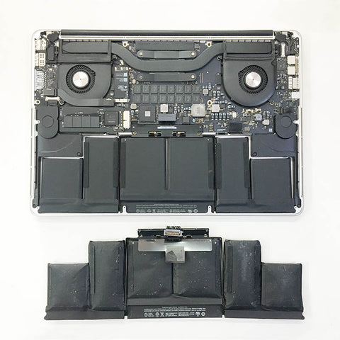 "MacBook Pro Retina 15"" Battery Damaged And Replaced"