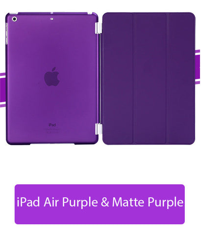 iPad Air Purple Cover matte purple case, Auto on / off function