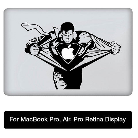 Superman Sticker for MacBook Pro MacBook Air MacBook Pro with Retina Display 13 inch